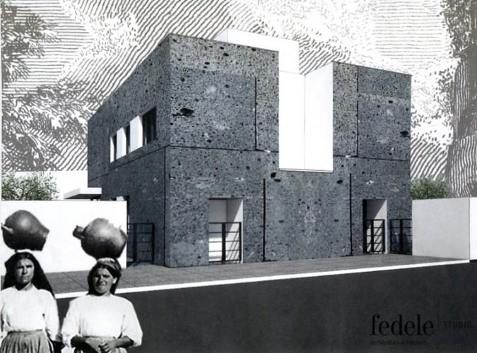 Architettura: Due case bifamiliari per Olbia (OT).