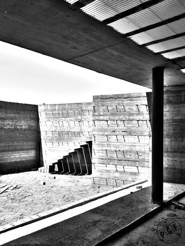 Architettura: Casa a tre corti 'A' in Sardegna.
